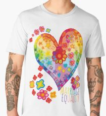 Marriage Equality - All You Need is Love Men's Premium T-Shirt