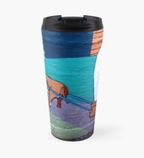 Mule and trolley Travel Mug