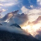Breathtaking awesome mountain landscape by dariazu