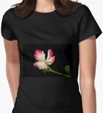 Turning Away Womens Fitted T-Shirt