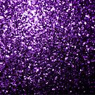 Beautiful Dark Purple glitter sparkles by PLdesign