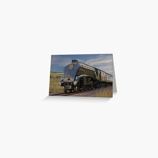 Union of South Africa steam engine Greeting Card