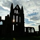 Whitby Abbey (silhouette) by dougie1