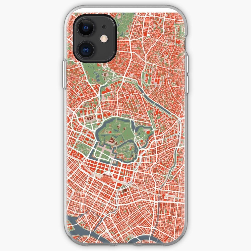 Tokyo Stadtplan Klassiker iPhone-Hülle & Cover