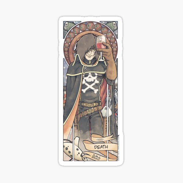 XIII - DEATH (ZeMiaL) Sticker