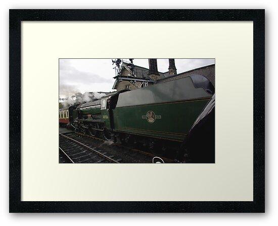 The Train by Trevor Kersley