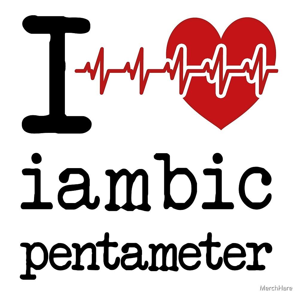 love iambic pentameter women s chiffon top by merchhare redbubble