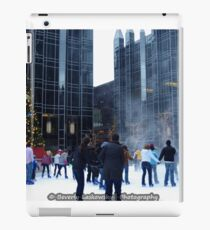 PPG Place in Pittsburgh, PA - Wind Made a Snowy Tornado iPad Case/Skin
