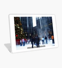 PPG Place in Pittsburgh, PA - Wind Made a Snowy Tornado Laptop Skin