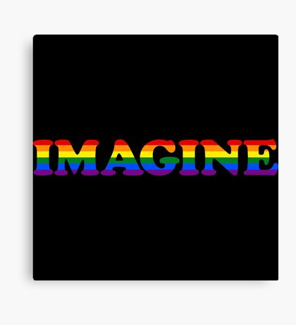 IMAGINE | Support Marriage Equality Canvas Print