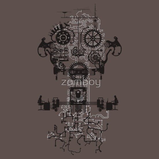 TShirtGifter presents: Ghost In The Machine