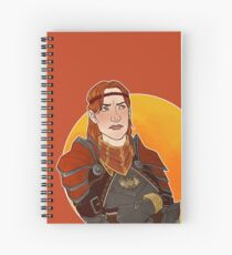Captain of the Guard Spiral Notebook