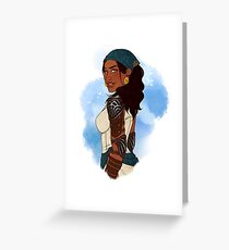 Queen of the Eastern Seas Greeting Card