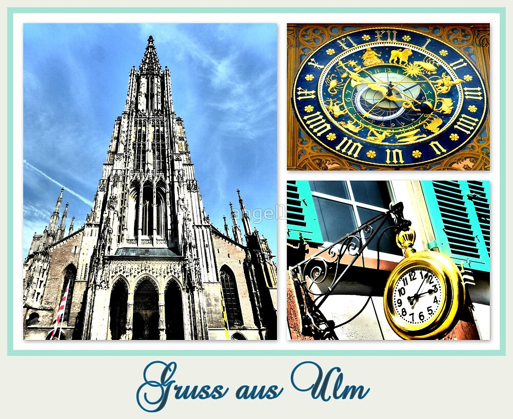 Gruss aus Ulm by ©The Creative  Minds
