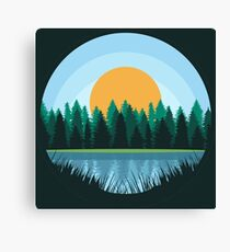 Lake - Landscape Canvas Print