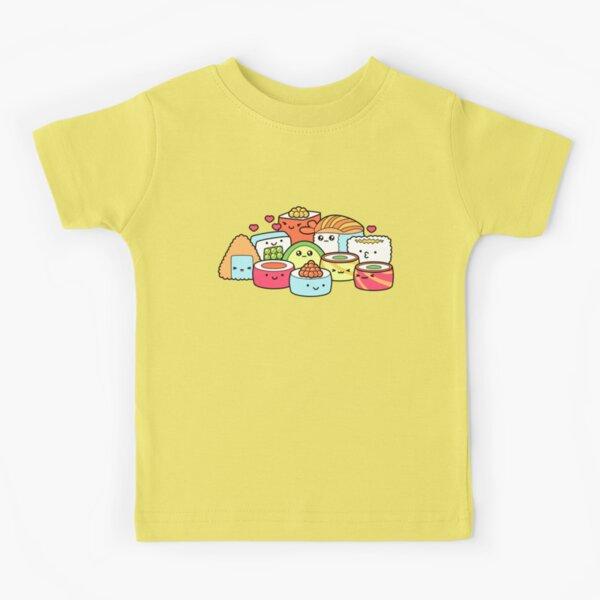 Kawaii Sushi Kids T-Shirt