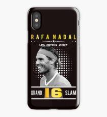 Rafa Nadal 16 Grand Slam iPhone Case/Skin