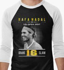 Rafa Nadal 16 Grand Slam Men's Baseball ¾ T-Shirt