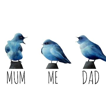 Mum, Dad and Me by mairundmair