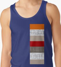 Red Stripe Tank Top