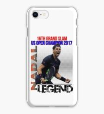 Rafael Nadal The Legend  iPhone Case/Skin