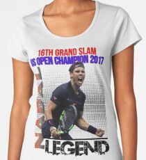Rafael Nadal The Legend Women's Premium T-Shirt