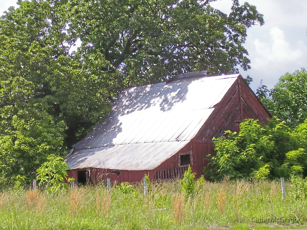Old Barn by Cathy McGregor