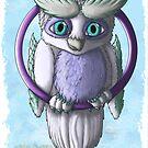 Owlgons: Winter Season (Winter Background) by MeaKitty