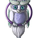 Owlgons: Winter Season (Plain Background) by MeaKitty