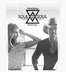 Tim Mcgraw and Faith Hill Soul2soul Poster