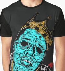Infected Notorius B.I.G. / Zombie Biggie / Big Papa Graphic T-Shirt