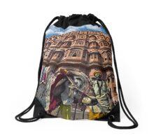 Holy Cow - Drawstring Bag by Glen Allison