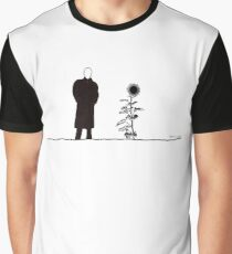 The man and the Sunflower Graphic T-Shirt
