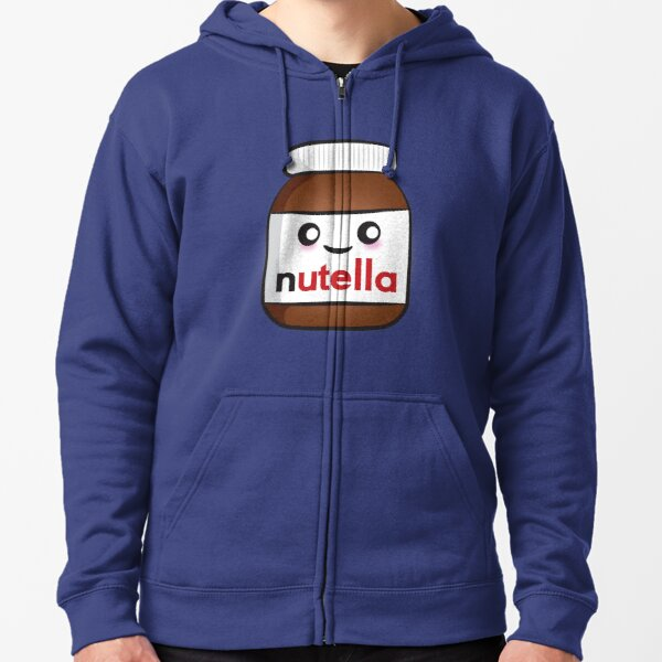 Nutella face 2 Zipped Hoodie