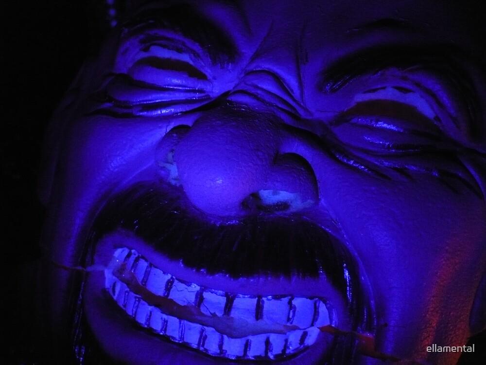 Blue in the Face by ellamental