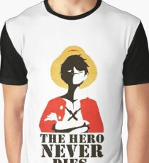 Luffy the captain! One Piece Graphic T-Shirt