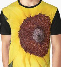 Part of head of sunflower closeup wallpaper Graphic T-Shirt