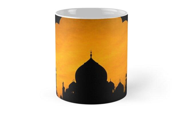 Fluted Arch Taj Mahal - Mug by Glen Allison