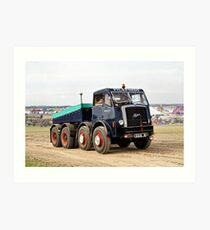 1956 Pickfords Foden Heavy Haulage Tractor Art Print