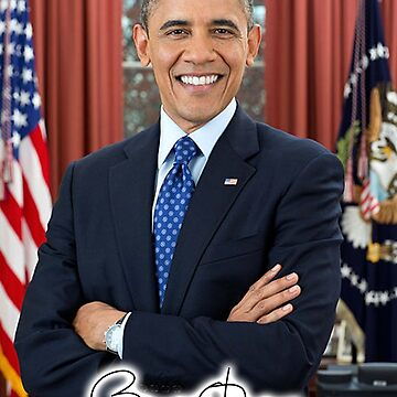 OBAMA, Barack Obama, 44th, President of the United States by TOMSREDBUBBLE