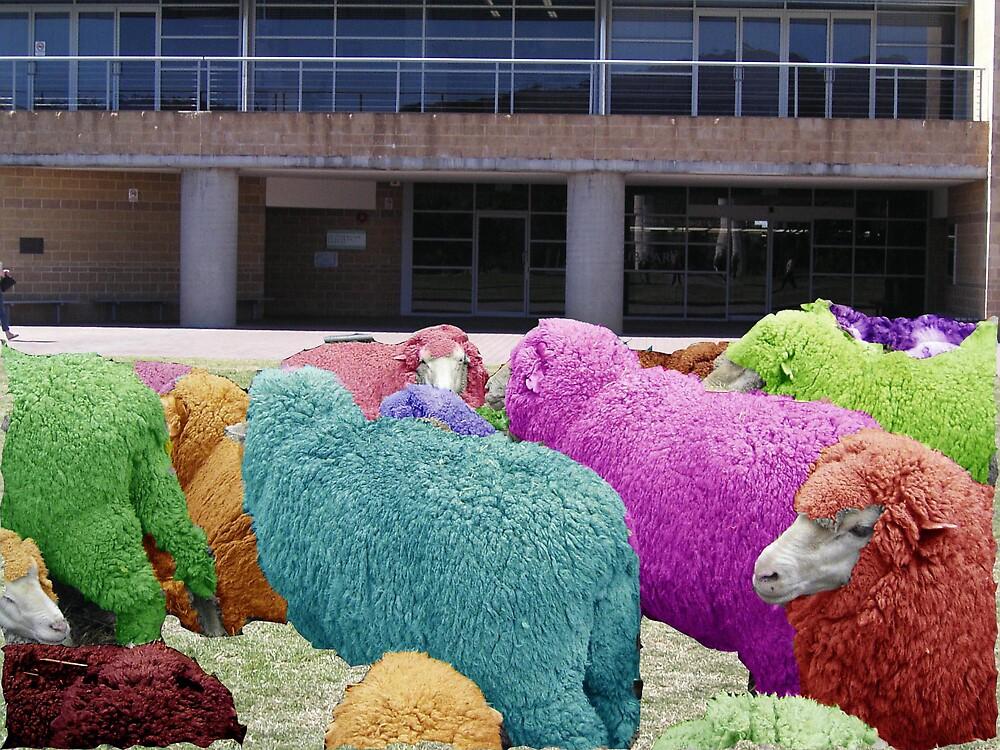 Sheep by pigprincess