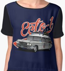 ECTO-1 - GHOSTBUSTERS´S CAR Women's Chiffon Top