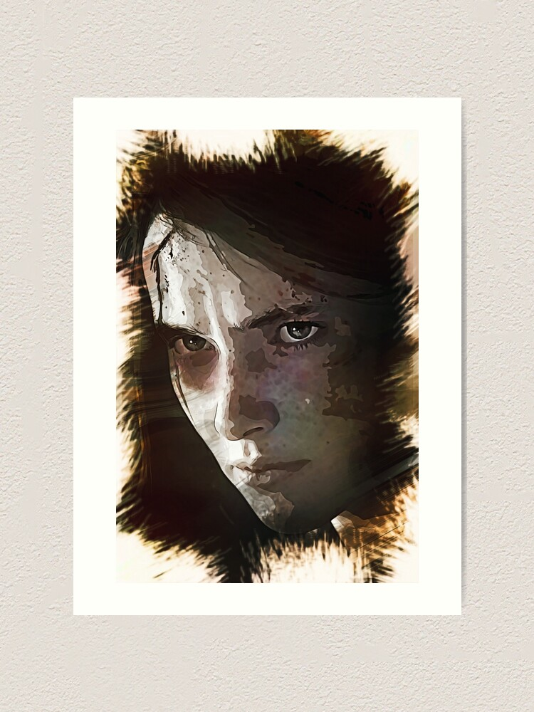 Ellie The Last Of Us Part 2 Art Print