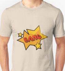 Bang Bang comic sound effect bubble T-Shirt