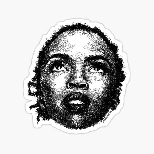 Scribbled Singer Sticker