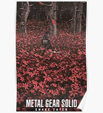 Metal Gear Solid Big Boss And The Boss Poster