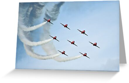 Red Arrows by kcphotography