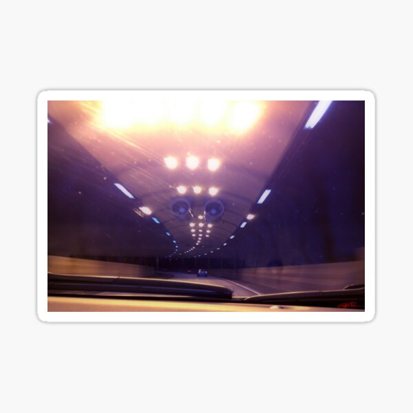 Freeway tunnel Sticker