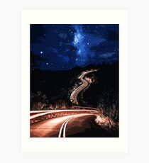 Road to the Stars Art Print