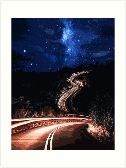 Road to the Stars by Andrea Mazzocchetti